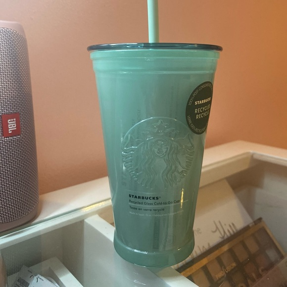 Starbucks 2021 Green Frosted Recycled